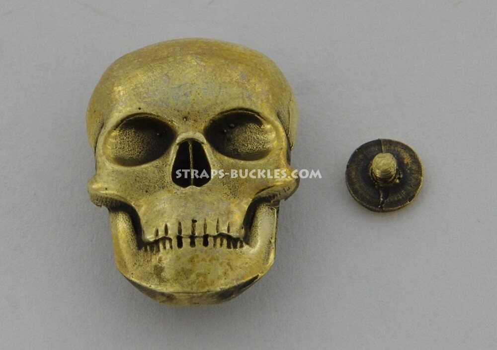 Skull big brass
