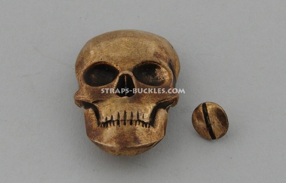 Skull big bronze