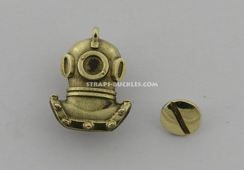 Diving helmet brass