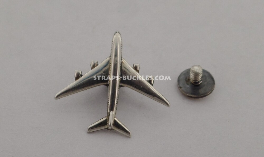 Airplane SILVER mini