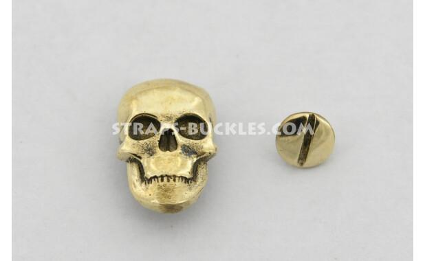 Skull brass medium