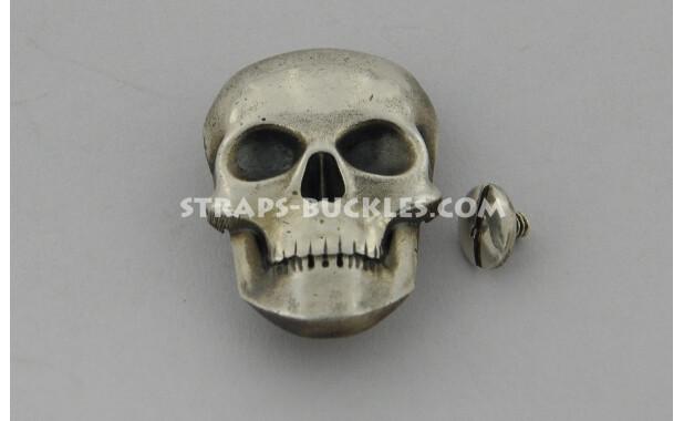 Skull big silver