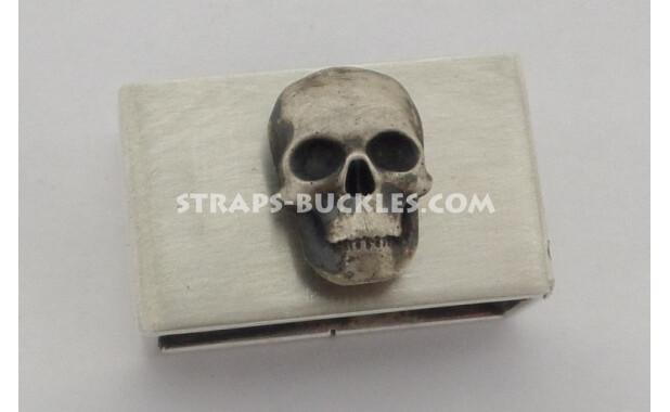 Silver keeper matt 24 mm with silver insert