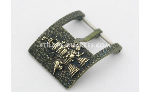 Aurora brass patina 24 мм