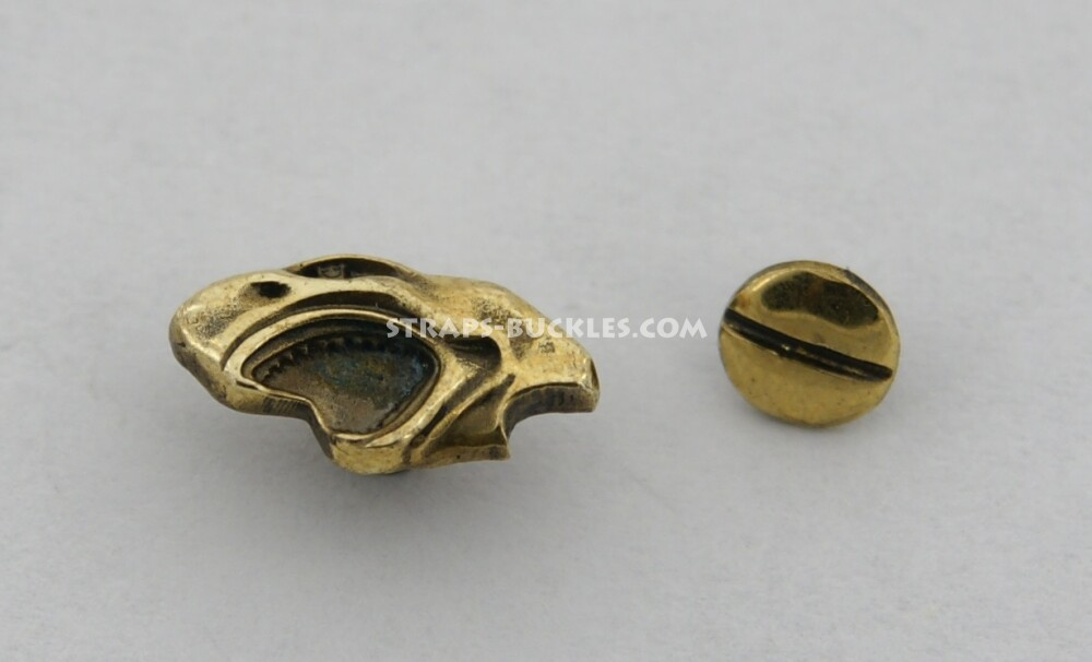 Shark mini brass