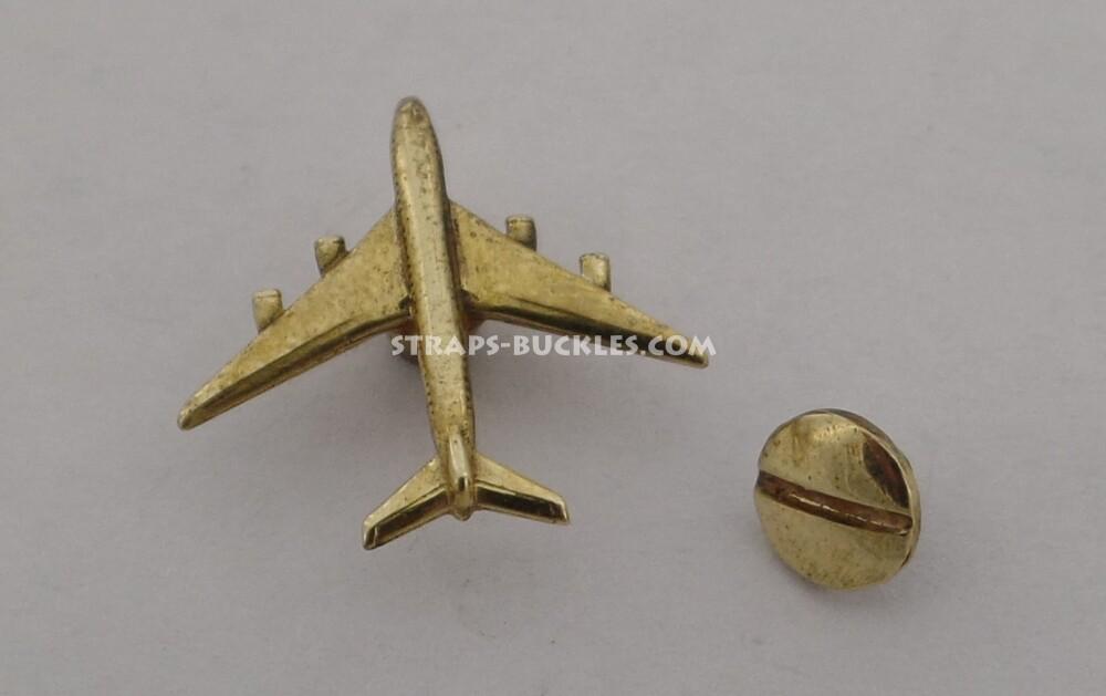 Airplane brass/bronze mini