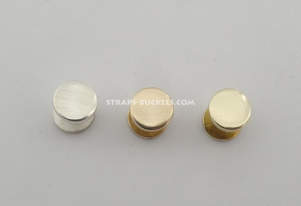 Sterling silver / bronze / brass screws