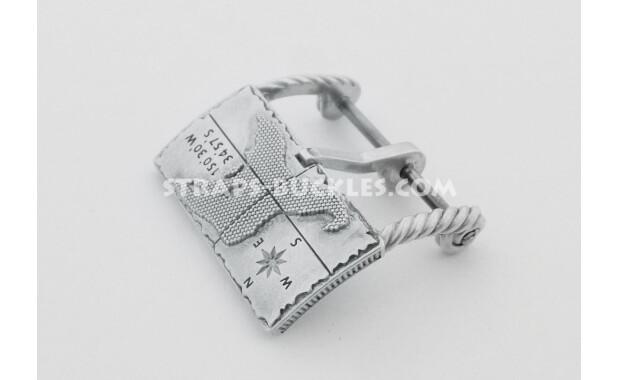 Island sterling silver, 20 mm