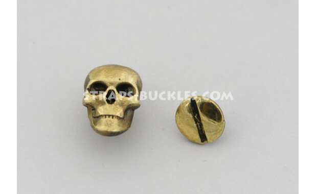 Skull brass mini