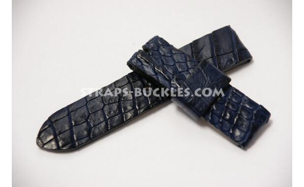 Часовой ремешок из кожи крокодила