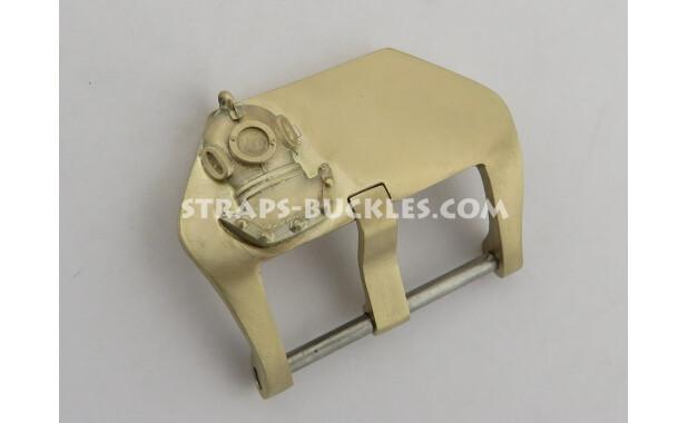 """Bronze buckle """"Diving helmet"""" 22, 24 mm"""