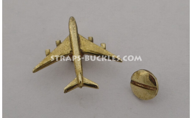 Airplane brass/bronze mini