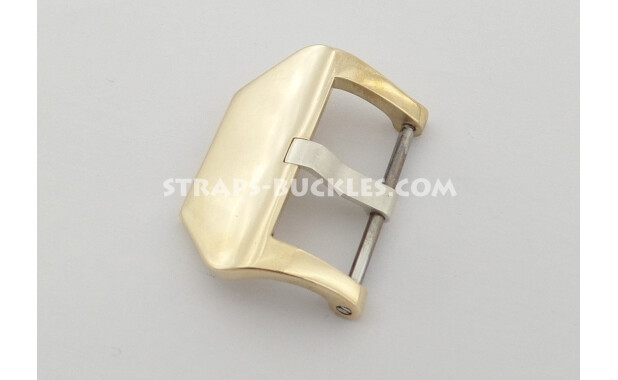 Base bronze/brass polished / matte buckle 20 mm, 22 mm, 24 mm