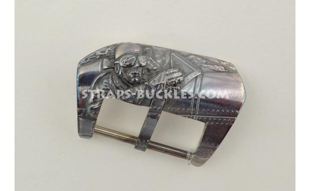 Pilot silver black 22, 24 mm