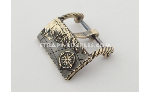 Mariner's compass bronze 20, 22 mm.