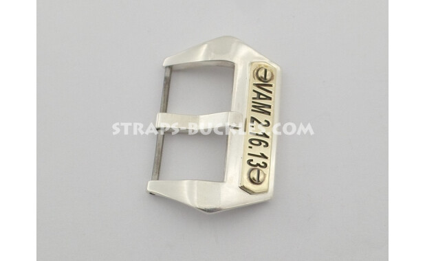 Sterling silver buckle with nameplate 26 мм