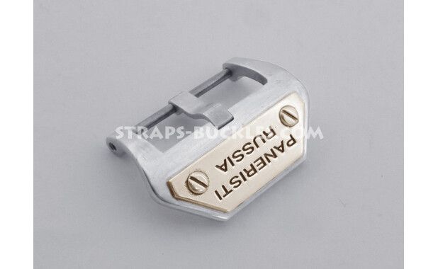 Sterling silver buckle PANERISTI RUSSIA 22,24 мм