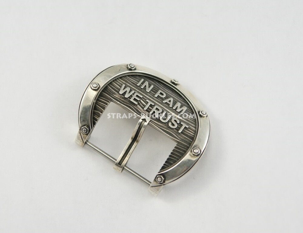 In PAM silver small 24 mm