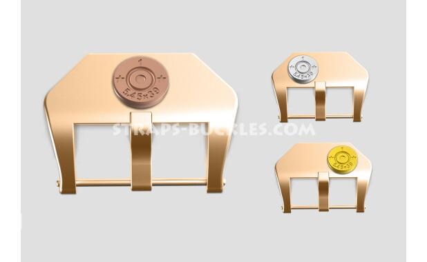 """Bronze buckle """"Capsule"""" 20, 22, 24 mm"""