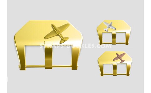 "Brass buckle ""Fighter"" 22, 24 mm"