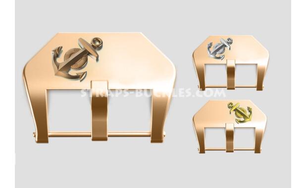 "Bronze buckle ""Anchor"" 20, 22, 24 mm"