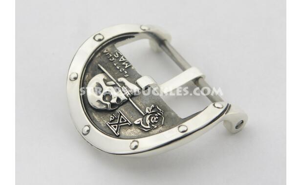 skull silver lite 24 mm