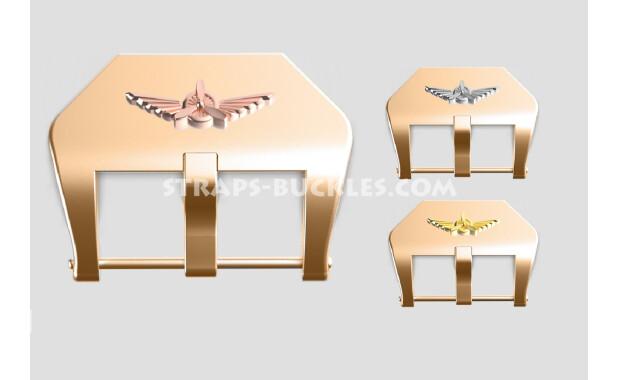 "Bronze buckle ""Wings"" 20, 22, 24 mm"