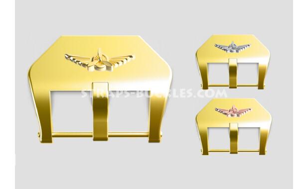 """Brass buckle """"Wings"""" 20, 22, 24 mm"""
