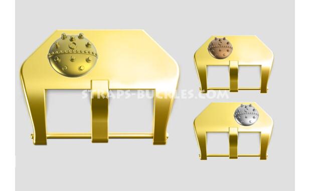 "Brass buckle ""Sea mine"" 20, 22, 24 mm"