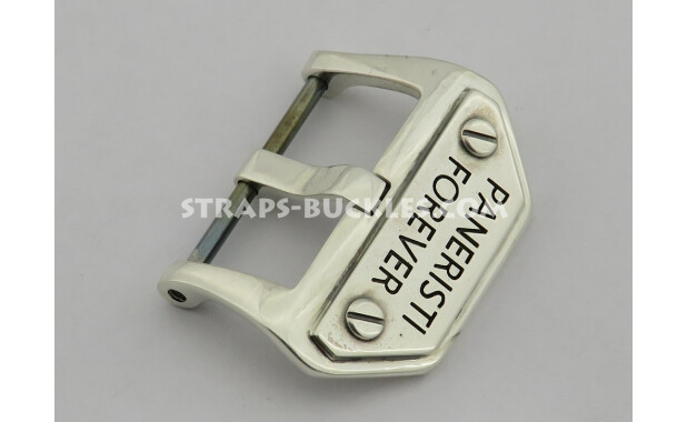 Sterling silver buckle Paneristi Forever 20,22,24 мм