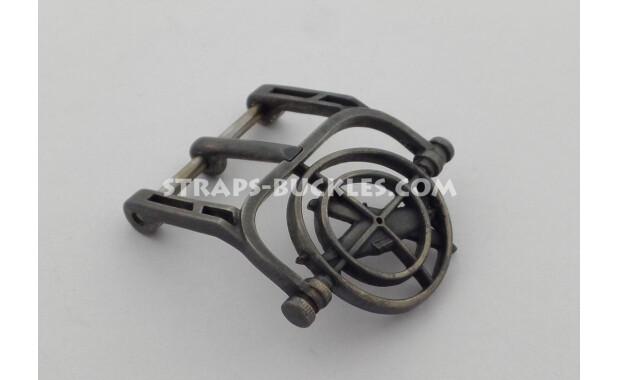 Sight black silver 20-22-24 mm