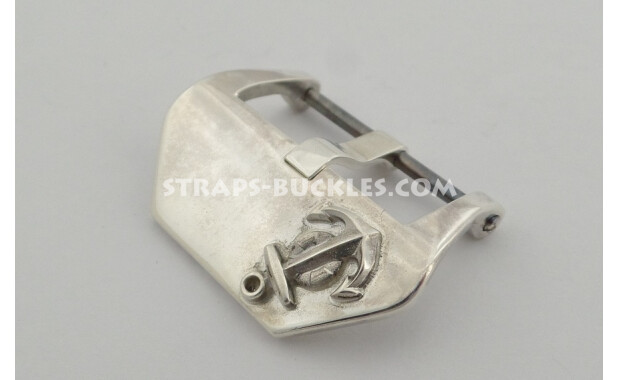 """Sterling silver buckle """"Anchor"""" 20, 22, 24 mm"""