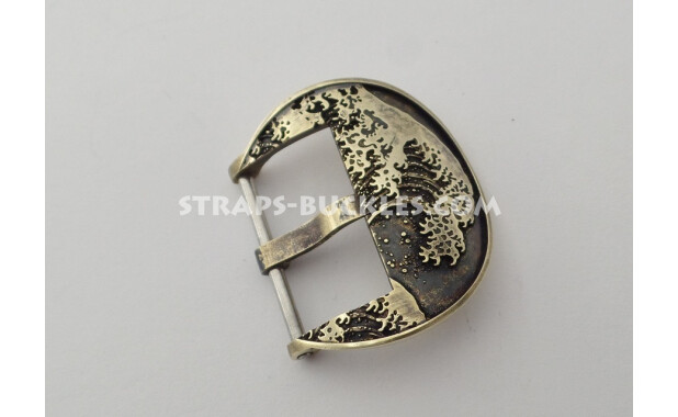 Wave brass 22 mm.