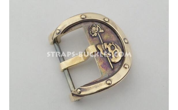 Bronze/brass skull 20 mm